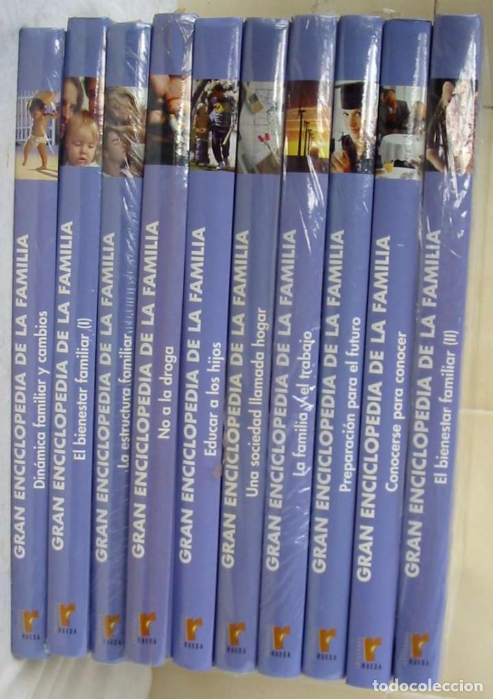 GRAN ENCICLOPEDIA DE LA FAMILIA - COMPLETA - ED. NAUTA 2005 INCLUYE DISCO - VER DESCRIPCIÓN Y FOTOS (Libros de Segunda Mano - Enciclopedias)