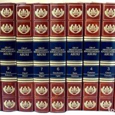 Enciclopedias de segunda mano: GRAN DICCIONARIO ENCICLOPÉDICO ASURI - COMPLETA 11 TOMOS - VER DESCRIPCIÓN Y FOTOS. Lote 229687060
