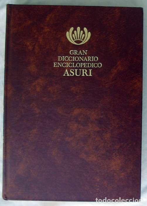 Enciclopedias de segunda mano: GRAN DICCIONARIO ENCICLOPÉDICO ASURI - COMPLETA 11 TOMOS - VER DESCRIPCIÓN Y FOTOS - Foto 3 - 229687060