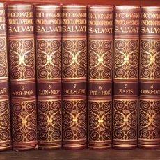 Enciclopedias de segunda mano: DICCIONARIO ENCICLOPÉDICO SALVAT 1966. Lote 230554960