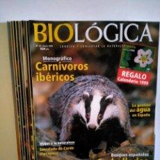 Enciclopedias de segunda mano: REVISTA BIOLÓGICA 1999. LB 32. Lote 230824830