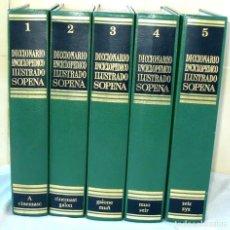 Enciclopedias de segunda mano: DICCIONARIO ENCICLOPÉDICO ILUSTRADO SOPENA - COMPLETO 1977 - VER DESCRIPCIÓN Y FOTOS. Lote 231514260