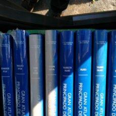 Enciclopedias de segunda mano: GRAN ATLAS DEL PRINCIPADO DE ASTURIAS - OCHO TOMOS: 1 - ATLAS GEOGRAFICO 2 - ATLAS CULTURAL 3 - O. Lote 231900730