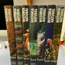 Enciclopedias de segunda mano: HISTÓRIA NATURAL. 7 TOMOS. CLUB INTERNACIONAL DEL LIBRO. 2008. Lote 234309030