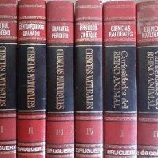 Enciclopedias de segunda mano: ENCICLOPEDIA DE LAS CIENCIAS NATURALES + ENCICLOPEDIA DE LAS CIENCIAS NATURALES - BRUGUERA - COMPLE. Lote 234494500