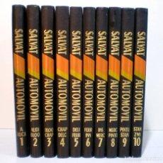 Livros em segunda mão: ENCICLOPEDIA SALVAT DEL AUTOMOVIL, 10 TOMOS. Lote 234897695