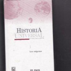 Enciclopedias de segunda mano: HISTORIA UNIVERSAL. TOMO 1. LOS ORÍGENES EDITADA POR SALVAT PARA EL PAIS.. Lote 234898340