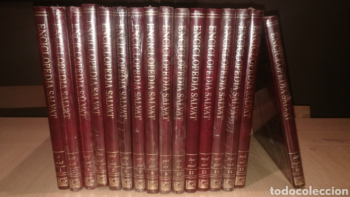 Enciclopedias de segunda mano: ENCICLOPEDIA SALVAT - AÑO 1997 - 11 TOMOS - Foto 3 - 234989930