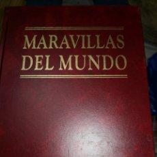 Enciclopedias de segunda mano: 10 TOMOS MARAVILLAS DE MUNDO. Lote 235328790