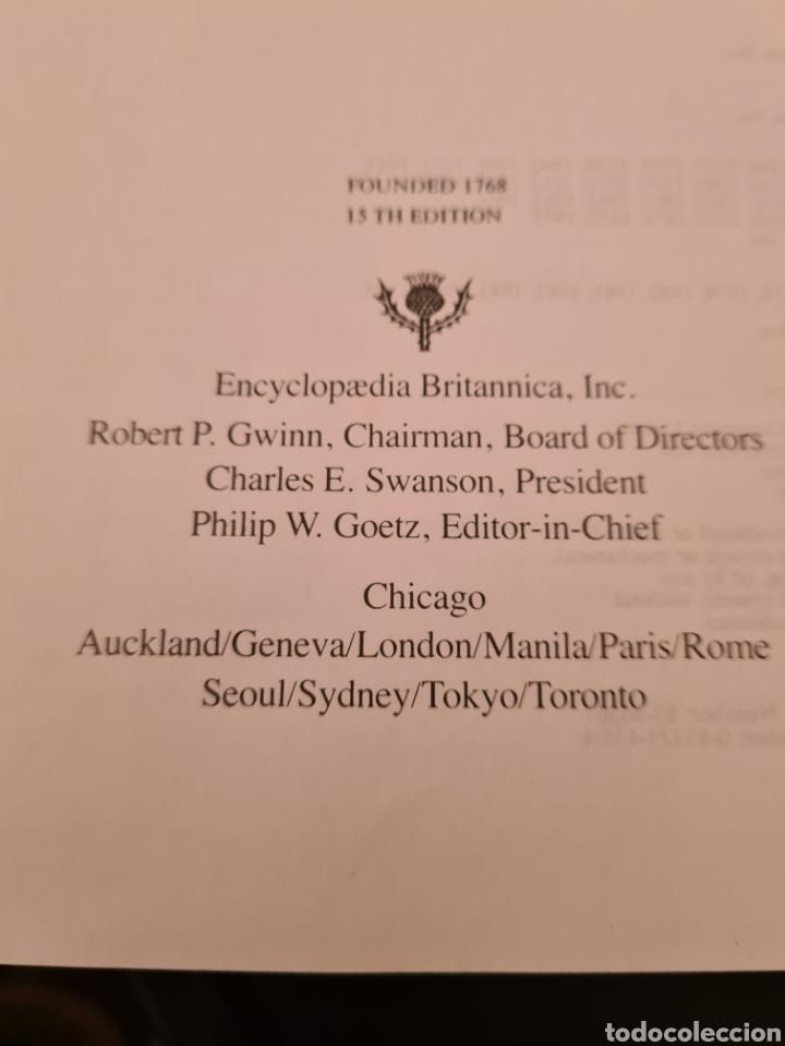 Enciclopedias de segunda mano: The New Encicopaedia Britannica, 15th edition - Foto 4 - 235896590