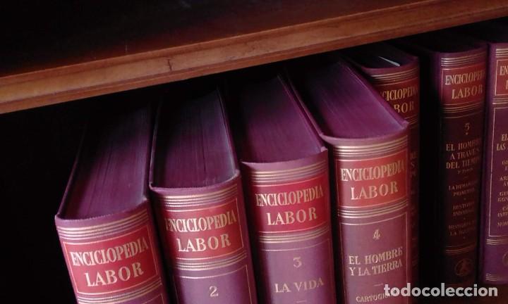 Enciclopedias de segunda mano: ENCICLOPEDIA LABOR - COMPLETA - 11 tomos en 12 volúmenes - 1955-1975 - Foto 3 - 235975350