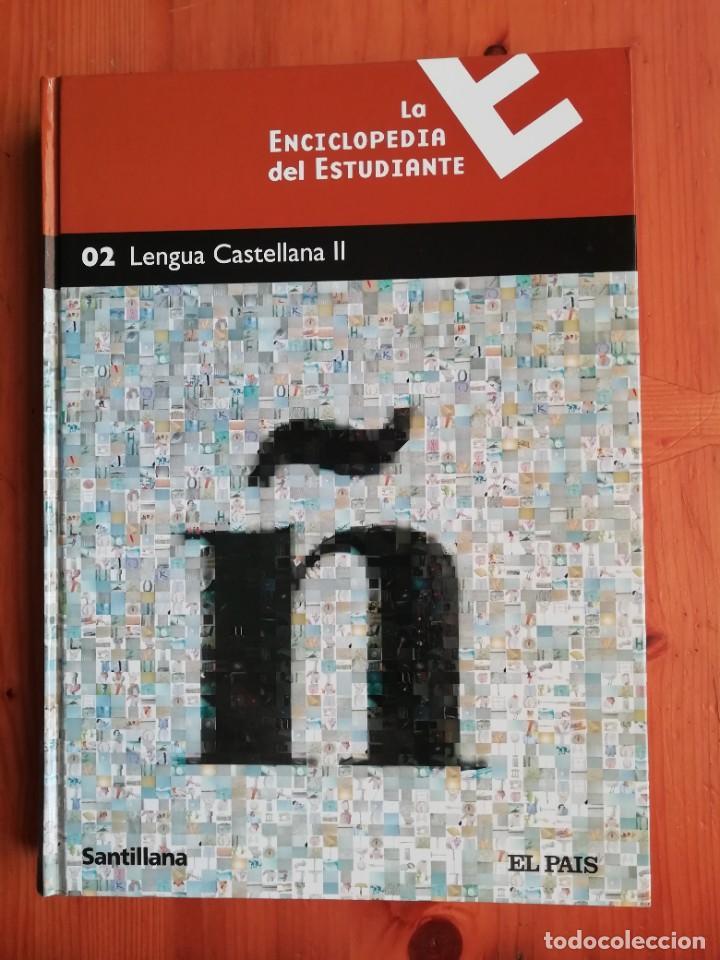 LA ENCICLOPEDIA DEL ESTUDIANTE. 02 LENGUA CASTELLANA II (Libros de Segunda Mano - Enciclopedias)