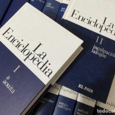 Enciclopedias de segunda mano: LA ENCICLOPEDIA SALVAT EL PAIS 20 TOMOS TAPA DURA COMPLETA BUEN ESTADO. Lote 237978025