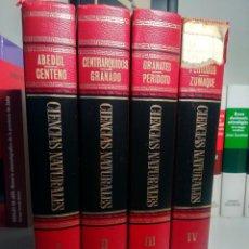 Libri di seconda mano: ENCICLOPEDIA DE CIENCIAS NATURALES - BRUGUERA, 1967-1970 - COMPLETA, 4 TOMOS - PRECIOSA. Lote 238196190