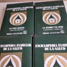Enciclopedias de segunda mano: TRAST LIBRO LOTE DE 4 TOMOS ENCICLOPEDIA FAMILIAR DE LA SALUD DANAE LOS DE FOTO. Lote 239786295