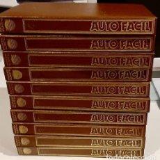 Enciclopedias de segunda mano: AUTO FACIL. ENCICLOPEDIA 10 TOMOS . BRICOLAJE AUTOMOVIL PLANETA AGOSTINI .. Lote 288131223