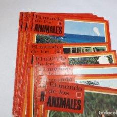 Enciclopedias de segunda mano: FASCÍCULOS, EL MUNDO DE LOS ANIMALES. Lote 242134825