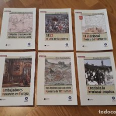 Enciclopedias de segunda mano: COLECCIÓN QUE SABEMOS DE LA CONQUISTA DE NAVARRA 1512-1529, 6 TOMOS, VVAA. Lote 98810583