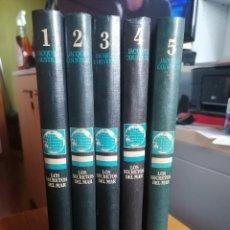 Libri di seconda mano: LOS SECRETOS DEL MAR ** COUSTEAU * EDICIONES URBION * 5 TOMOS. Lote 243239155