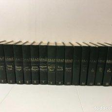 Enciclopedias de segunda mano: GRAN ENCICLOPEDIA CATALANA 15 TOMOS + 1 SUPLEMENTO 1ª EDICIÓN JULIO 1969. Lote 243609970