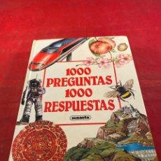 Enciclopedias de segunda mano: 1000 PREGUNTAS 1000 RESPUESTAS. Lote 243767830