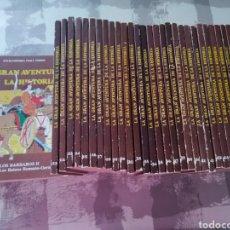 Enciclopedias de segunda mano: ENCICLOPEDIA CÓMIC LA GRAN AVENTURA DE LA HISTORIA. TP. 38 LIBROS. INCOMPLETA.. Lote 243945685