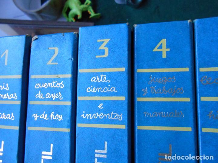 Enciclopedias de segunda mano: Enciclopedia infantil Biblioteca Cultural Carroggio 10 tomos - Foto 5 - 244008590