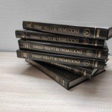 Enciclopedias de segunda mano: ENCICLOPEDIA VIDA ANIMAL. BRUGUERA. 6 TOMOS PLASTIFICADOS. Lote 244533840
