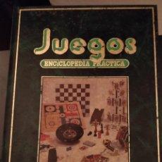 Enciclopedias de segunda mano: JUEGOS. ENCICLOPEDIA PRACTICA. Lote 245109335