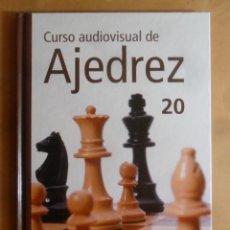 Enciclopedias de segunda mano: CURSO AUDIOVISUAL DE AJEDREZ Nº 20 - RBA - 2011 * VER CONTENIDO. Lote 245915995
