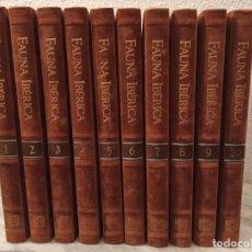 Enciclopedias de segunda mano: ENCICLOPEDIA FAUNA IBÉRICA SALVAT. Lote 246082040