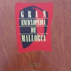 Enciclopedias de segunda mano: GRAN ENCICLOPEDIA DE MALLORCA, VOLUM 5. Lote 246219065