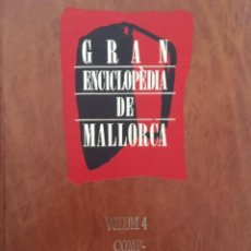 Enciclopedias de segunda mano: GRAN ENCICLOPEDIA DE MALLORCA, VOLUM 4. Lote 246219170
