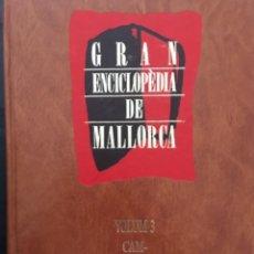 Enciclopedias de segunda mano: GRAN ENCICLOPEDIA DE MALLORCA, VOLUM 3. Lote 246219255
