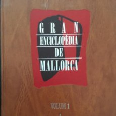 Enciclopedias de segunda mano: GRAN ENCICLOPEDIA DE MALLORCA, VOLUM 1. Lote 246219695