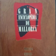 Enciclopedias de segunda mano: GRAN ENCICLOPEDIA DE MALLORCA, VOLUM 6. Lote 246219825