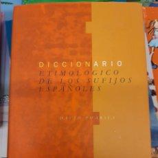 Enciclopedias de segunda mano: DICCIONARIO ETIMOLÓGICO DE LOS SUFIJOS ESPAÑOLES. DAVID PHARIES GREDOS. Lote 246236050