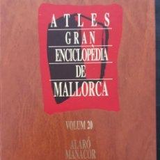 Enciclopedias de segunda mano: GRAN ENCICLOPEDIA DE MALLORCA, VOLUM 20, ATLES. Lote 246233480