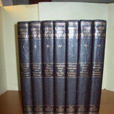 Enciclopedias de segunda mano: LANDS AND PEOPLES / THE GLORIER SICIETY / 7 TOMOS / INGLÉS. Lote 246299870