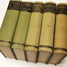Enciclopedias de segunda mano: NUMULITE * 5 TOMOS HISTORIA UNIVERSAL ESPASA CALPE GÓTICO RENACIMIENTO REFORMA LIBERALISMO .... Lote 246328000