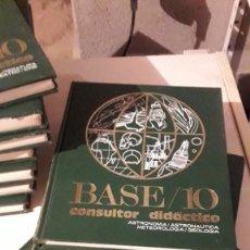 Enciclopedias de segunda mano: ENCICPLOPEDIA BASE 10 - 10 VOLUMENES. Lote 246442890