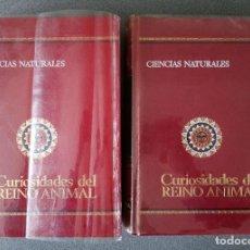 Enciclopedias de segunda mano: LOTE ENCICLOPEDIAS CIENCIAS NATURALES CURIOSIDADES DEL REINO ANIMAL BRUGUERA. Lote 246484405
