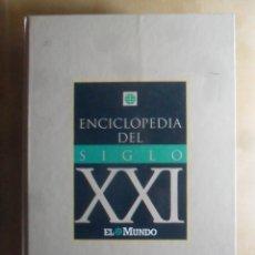 Enciclopedias de segunda mano: ENCICLOPEDIA DEL SIGLO XXI - EL MUNDO - 1992. Lote 246559295