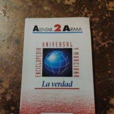 Enciclopedias de segunda mano: ENCICLOPEDIA UNIVERSAL Y MURCIANA N° 2: ALENTAR -2- ARMA (LA VERDAD) (REGIÓN DE MURCIA). Lote 246573775