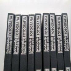 Enciclopedias de segunda mano: ENCICLOPEDIA PLANETA DE LA FOTOGRAFÍA 9 TOMOS. Lote 246666010