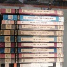 Enciclopedias de segunda mano: LOTE DE 36 LIBROS COLECCIÓN AUSTRAL ESPASA CALPE. Lote 246709375