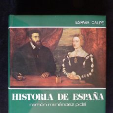 Enciclopedias de segunda mano: HISTORIA DE ESPAÑA R. MENÉNDEZ PIDAL. TOMO XX. LA ESPAÑA DE CARLOS V. ESPASA CALPE. 1990. Lote 247043815