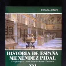 Enciclopedias de segunda mano: HISTORIA DE ESPAÑA R. MENÉNDEZ PIDAL. TOMO XXI. LA CULTURA DEL RENACIMIENTO. ESPASA CALPE. 1999. Lote 247043970