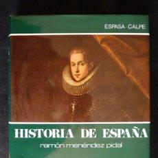 Enciclopedias de segunda mano: HISTORIA DE ESPAÑA R. MENÉNDEZ PIDAL. TOMO XXIV. LA ESPAÑA DE FELIPE III. ESPASA CALPE. 1992. Lote 247046135