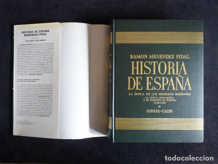 Enciclopedias de segunda mano: HISTORIA DE ESPAÑA R. MENÉNDEZ PIDAL. TOMO XXVIX. 2 VOLUMENES ... PRIMEROS BORBONES. ESPASA CALPE. 1 - Foto 3 - 247047065